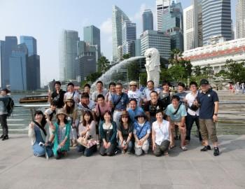 【研修】年に一度行われる社員旅行は海外に行っています。