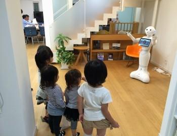 AIロボット『Pepper(ペッパー)』は子ども達の人気者!